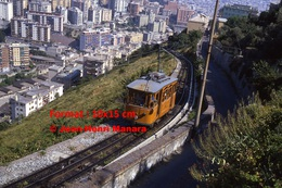 Reproduction Photographie D´un Tramway Ferrovia Genova Casella à Genova En Italie En 1984 - Riproduzioni