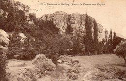 CPA ENVIRONS DE BELLEY - LE FURENS VERS PUGIEU - France