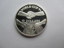 Niue, 10 Dollars, 1991 World Cup Soccer - Niue