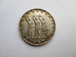 Switzerland, 5 Francs, 1941 Anniversary Of Confederation - Suisse