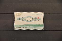 G 372 ++ CHINA 2016 MEETING G20 MNH ** - 1949 - ... Volksrepubliek