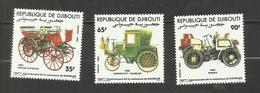Djibouti N°591 à 593 Neufs** Cote 4.90 Euros - Djibouti (1977-...)