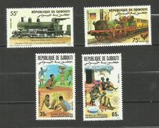 Djibouti N°603 à 606 Neufs** Cote 5.65 Euros - Djibouti (1977-...)