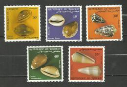 Djibouti N°609 à 613 Neufs** Cote 4.35 Euros - Djibouti (1977-...)