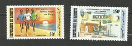 Djibouti N°618, 619 Neufs** Cote 3.85 Euros - Yibuti (1977-...)