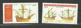Djibouti N°620, 621 Neufs** Cote 3.90 Euros - Yibuti (1977-...)