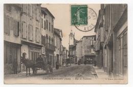 11 AUDE - CASTELNAUDARY Rue De Toulouse - Castelnaudary