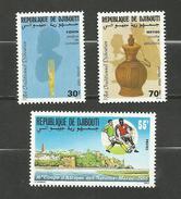 Djibouti N°639 à 641 Neufs** Cote 3.10 Euros - Yibuti (1977-...)