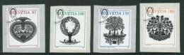 Suisse // Schweiz// Switzerland// 2007  // Papiers Découpés , Oblitéré 1er Jour  No. 1250-1253 - Used Stamps