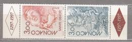 EUROPA 1997 Monaco Tales And Legends Mi 2355-2356, Yv 2104-2105, Sc 2043-2044 MNH (**) # 20564 - Europa-CEPT
