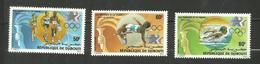 Djibouti POSTE AERIENNE N°204 à 206 Neufs** Cote 3.85 Euros - Yibuti (1977-...)