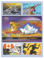 Guyana Nº 5060 Al 5063 - Guyana (1966-...)