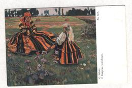 6904 Poland National Clothes Z Ksieztwa Lowickiego Artist Pillati - Pologne