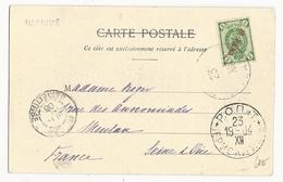 BUREAU RUSSE En PALESTINE - 1904 - CARTE De JERUSALEM Pour MEULAN