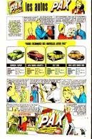 """PUB  COLLECTIONS VOITURES LESSIVE  """" PAX  """"  EN BANDES DESSINEES 1959 (2) - Advertising"""