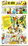 """PUB  COLLECTIONS VOITURES LESSIVE  """" PAX  """"  EN BANDES DESSINEES 1959 (3) - Advertising"""