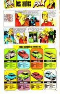 """PUB  COLLECTIONS VOITURES LESSIVE  """" PAX  """"  EN BANDES DESSINEES 1959 (4) - Advertising"""