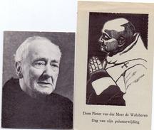 Devotie Doodsprentje Priester Monnik Pieter Van Der Meer De Walcheren - Utrecht 1880 - Breda 1970 - Décès