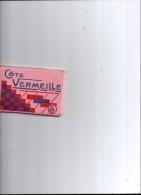 CARNET DE 20 VUE DES VILLAGES DE LA COTE VERMEILLE - France