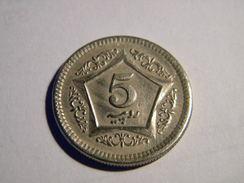PAKISTAN - 5 ROUPIES 2002. - Pakistan