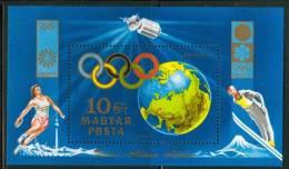 HUNGARY-1972.Souv.Sheet - 20th Olympic Games,MunichMNH! - Ungebraucht