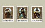 Hungary 1992. Bethlen - Bocskai - Báthori Famous Hungarians Set MNH (**) Michel: 4217-4219 / 3.60 EUR - Unused Stamps