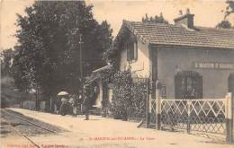 89 - Yonne - Saint Martin Sur Ouanne - Chemin De Fer - Gare - Ligne Triguères à Clamecy - France