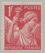 France 1939. ~ YT 433** - 1 F. Type Iris - 1939-44 Iris