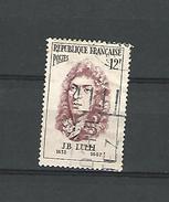 1956 N° 1083 J-B LULLI  MUSICIEN   OBLITÉRÉ QUALITÉ - France