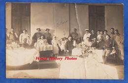 CPA Photo - BELLEY ( Ain ) - Hôpital Militaire - écrit Par Un Poilu De L'Homme D'Armes Savasse - Chasseurs Alpins - Guerra 1914-18