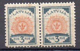 LETONIA . AÑO 1919-1921.  Yv 49 (MNH) X 2 - Latvia