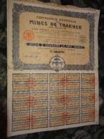 Emprunts Obligations Mines De Thakhek  Laos Indochine  1928