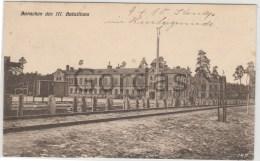 Poland - WW1 - Jablonna - Baracken Des III. Bataillons - Polonia