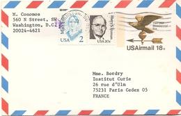 USA Enveloppe Washington Aigle - United States