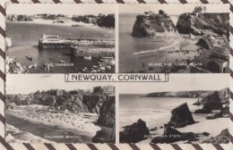 6AI4751 NEWQUAY CORNWALL MULTI VUES 2 Scans - Newquay