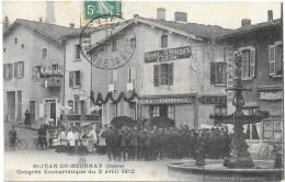 SAINT JEAN DE BOURNAY (Isère)  Congrès Eucharistique 3 Avril 1910 - Saint-Jean-de-Bournay