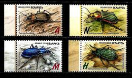 Belarus, Beetles, 2016, 4 Stamps - Belarus