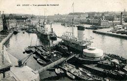 N°172 L -cpa Brest -vue Générale De L'arsenal- - Guerra