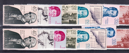ESPAÑA 1967.FORJADORES DE AMERICA  .EDIFIL Nº1819/1826 2 SERIES NUEVOS SIN CHARNELA..SES401GRANDE - 1931-Hoy: 2ª República - ... Juan Carlos I