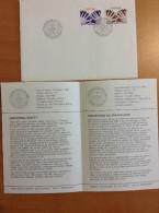SUEDE FDC + Notice 1976 Protection Des Travailleurs - Sécurité - FDC