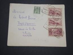 ITALIE / ALGÉRIE - Taxe Sur Enveloppe D 'Algérie En 1938 - A Voir - L 5540 - Portomarken