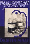 DESITIN-YUGOSLAVIA 1933,MEDICINE,PHARMACY - Pubblicitari