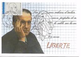 93  SAINT DENIS  Eugène Emile Grindel Dit Paul Eluard  1895/1952  23/02/91 - Escritores