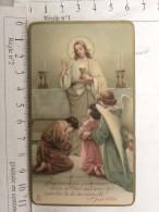 Image Religieuse - Seigneur ... 1932 Communion Medeleine Billaud - Saint Christophe Du Bois - Images Religieuses