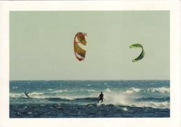 974 - ILE DE LA REUNION -  VUE KITE SURF A SAINT PIERRE - Saint Pierre