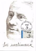84  L'ISLE SUR LA SORGUE  René Char 1907/1966 Poète  23/02/91 - Escritores