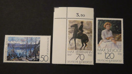 Germany - 1978 - Mi:986-8 - Yt:837-9**MNH - Look Scan - Unused Stamps