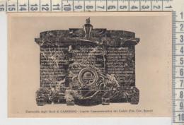 Camerino Macerata Università Lapide Commemorativa Dei Caduti  Fotog. Cav. Senesi - Macerata