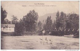 LOURES 65 PONT SUR GARONNE RELIANT LOURES ET BARBAZAN CPA BON ETAT - France