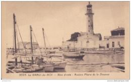 LE GRAU DU ROI RIVE DROITE ANCIEN PHARE DE LA DOUANE CPA BON ETAT - Le Grau-du-Roi